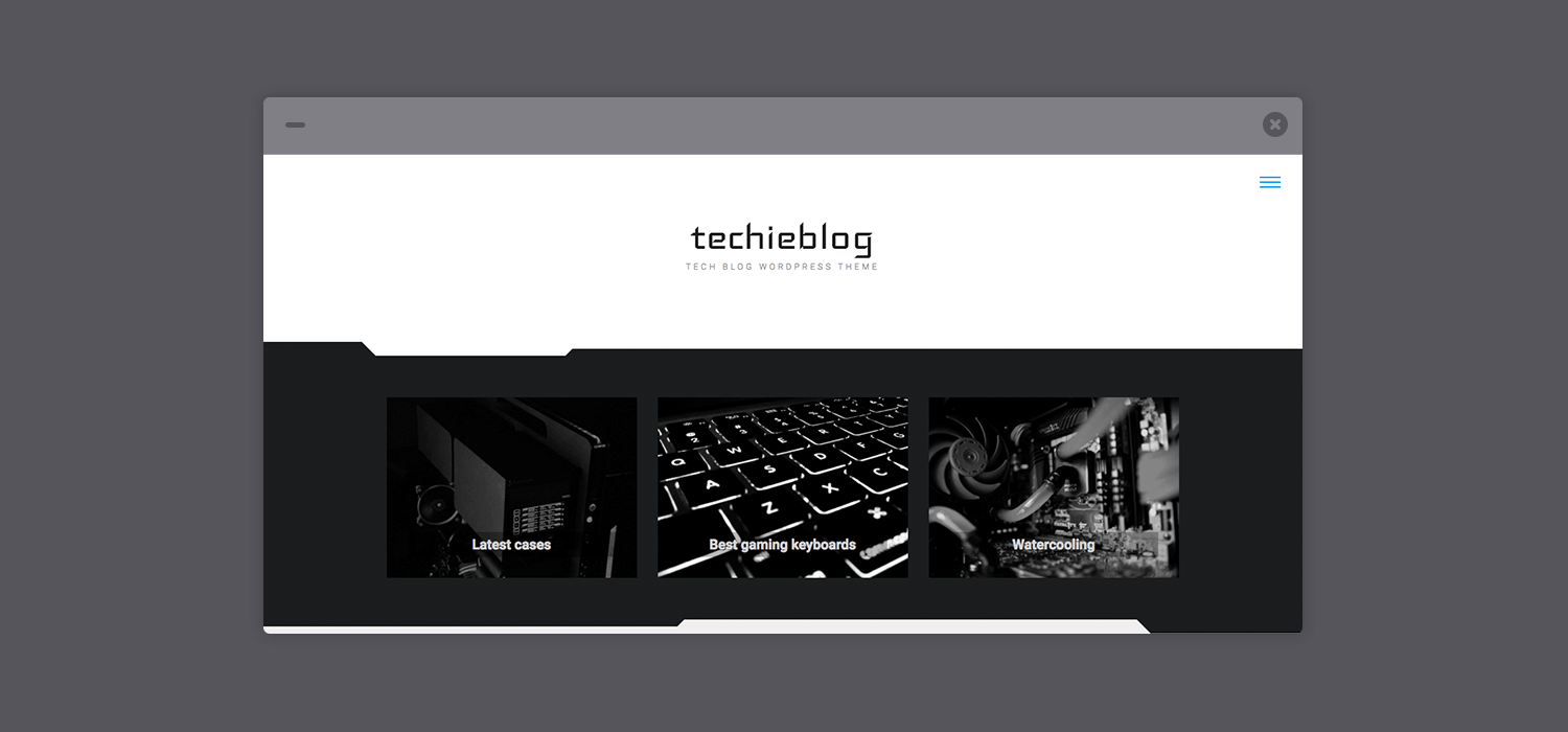 Techieblog – A Free WordPress Theme for Tech Blogs