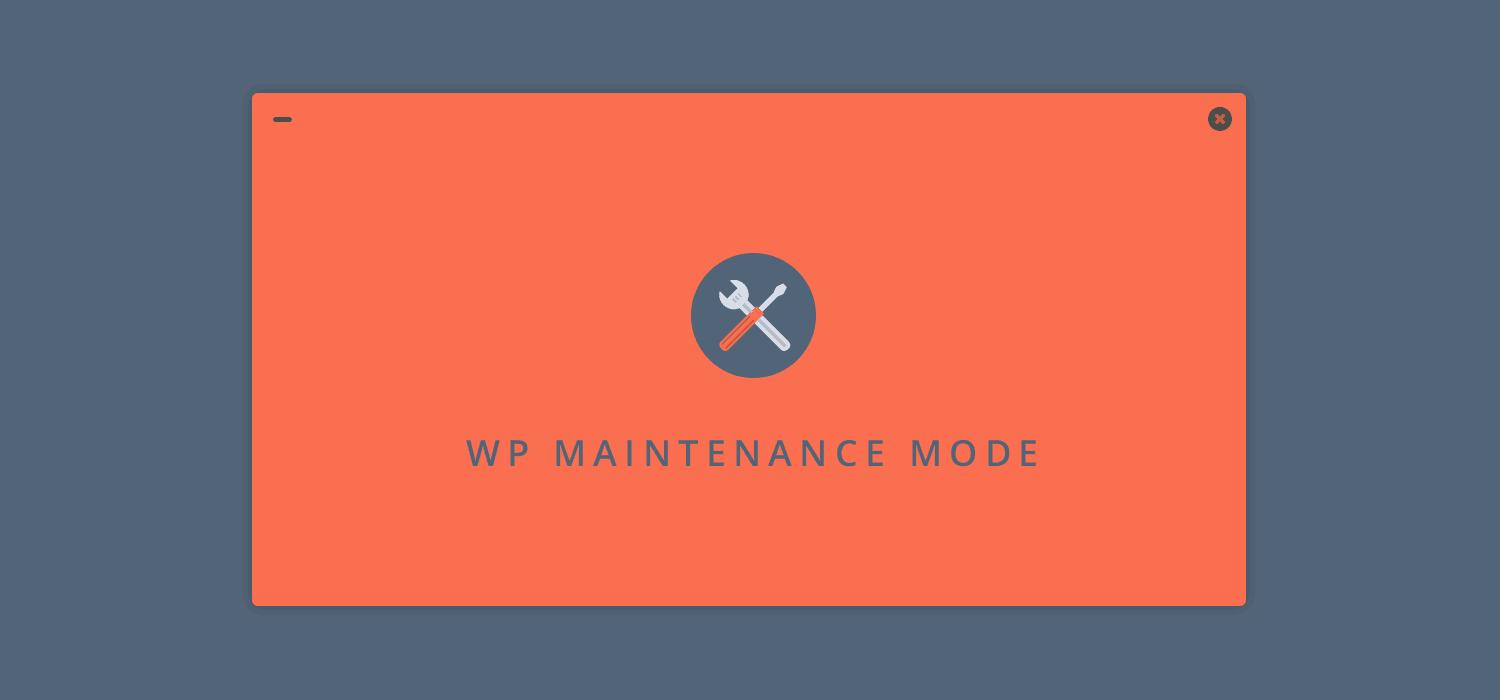 How to activate maintenance page (WP Maintenance Mode) programmatically