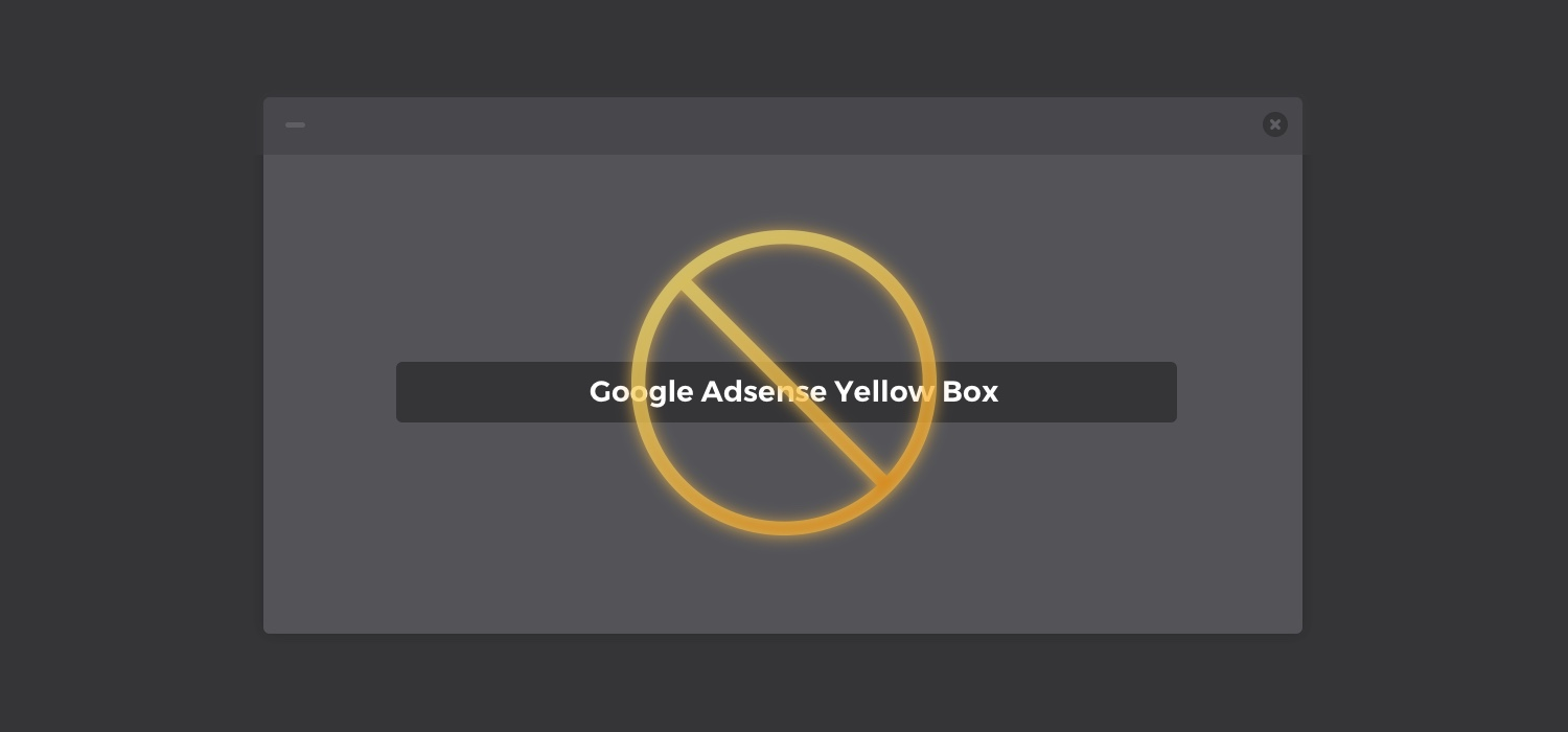 Simple Fix to Remove Yellow Background/Box from Adsense Ads